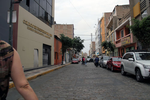A Street in Chiclayo