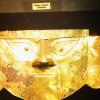 Funeral mask at Museo Arqueológico Brüning