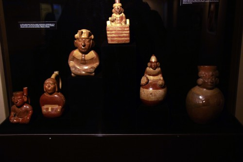 ceramics at the Museo Arqueológico Brüning