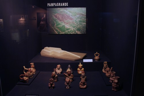 ceramics at the Museo Arqueológico Brüning