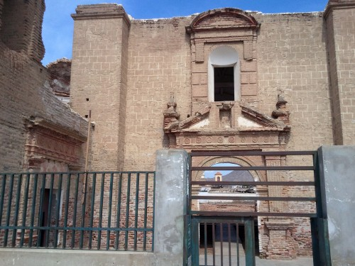 Convento de San Agustín in Zaña, Peru