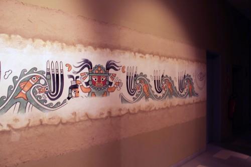 Wall Mural at el Museo Nacional Sicán