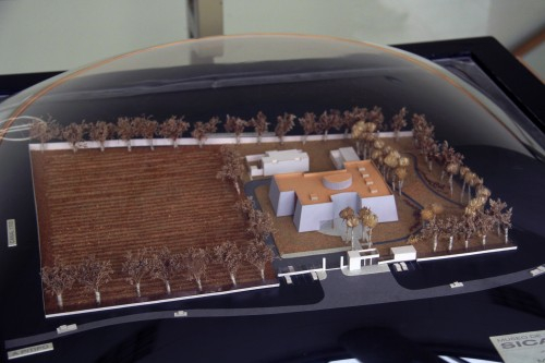 Model of Museo Nacional Sicán