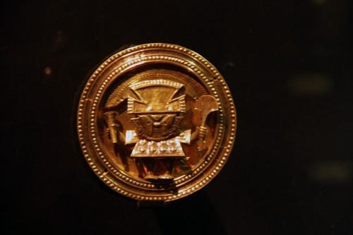 earring at the Museo Arqueológico Brüning