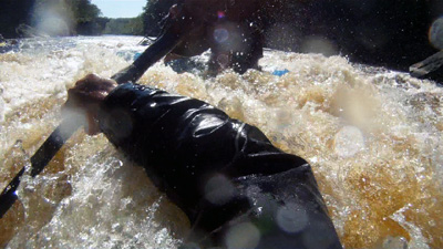 Spanish for kayakers, Kayaking through Hell's Gate, Kettle River, MN